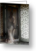 Proper Greeting Cards - The Haunting Greeting Card by Margie Hurwich