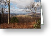 Log Cabin Photographs Greeting Cards - The Hills Have Eyes Greeting Card by Robert Margetts