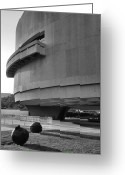 Cities Greeting Cards - The Hirshhorn Museum I Greeting Card by Steven Ainsworth