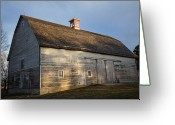 Property Released Photography Greeting Cards - The Historic Waveland Farm In Nebraska Greeting Card by Joel Sartore