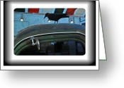 Chev Pickup Greeting Cards - The Hitchhiker Greeting Card by Daryl Macintyre
