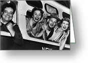 Program Greeting Cards - THE HONEYMOONERS, c1955 Greeting Card by Granger