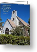 Biblical Greeting Cards - The House Of The Lord Greeting Card by Glenn McCarthy Art and Photography