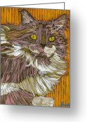 David Kent Collections Greeting Cards - The Huntress Greeting Card by David  Hearn