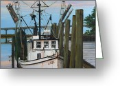 Rick Mckinney Greeting Cards - the J LEE Greeting Card by Rick McKinney