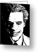 The Joker Greeting Cards - The Joker Greeting Card by Giuseppe Cristiano
