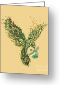 Migration Greeting Cards - The Journey Begins Greeting Card by Budi Satria Kwan