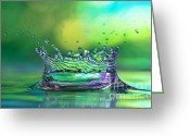 Thirsty Greeting Cards - The Kings Crown Greeting Card by Darren Fisher