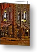 Photographers  Tallapoosa Greeting Cards - The Lady and Sons  Greeting Card by Corky Willis Atlanta Photography