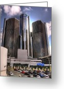 Renaissance Center Greeting Cards - The Land of Oz Greeting Card by Gordon Dean II