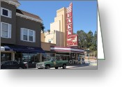 San Rafael Greeting Cards - The Lark Theater in Larkspur California - 5D18483 Greeting Card by Wingsdomain Art and Photography