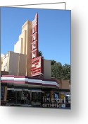 San Rafael Greeting Cards - The Lark Theater in Larkspur California - 5D18484 Greeting Card by Wingsdomain Art and Photography