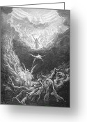 Judgement Day Greeting Cards - The Last Judgment Greeting Card by Granger
