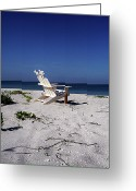 White Sand Greeting Cards - The Life GP Greeting Card by Chris Andruskiewicz