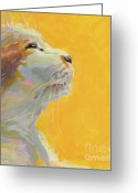 Tuxedo Greeting Cards - The Light Greeting Card by Kimberly Santini
