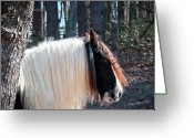 Storybook Greeting Cards - The Living Unicorn Greeting Card by Terry Kirkland Cook