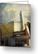 Abandoned Buildings Greeting Cards - The Lorenzo Greeting Card by Laurie Search
