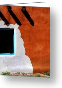 Turquois Greeting Cards - The magic of Santa Fe Greeting Card by Susanne Van Hulst