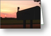 Mail Box Greeting Cards - The Mail Of Old Greeting Card by Mike McGlothlen