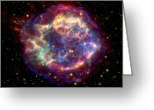 Constellations Greeting Cards - The Many Sides Of The Supernova Remnant Greeting Card by Nasa