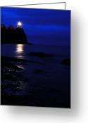Harbors Greeting Cards - The Memory Lives On... Greeting Card by Larry Ricker