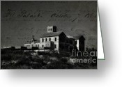 The Haunted House Greeting Cards - The Most Haunted House in Spain. Casa Encantada. Welcome to the Hell Greeting Card by Jenny Rainbow