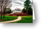 The Berkshires Greeting Cards - The Mount Greeting Card by John Sotiriou 