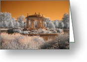 Missouri Photographer Greeting Cards - The Muny at Forest Park Greeting Card by Jane Linders