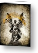 Kremsdorf Photo Greeting Cards - The Muse Greeting Card by Evelina Kremsdorf