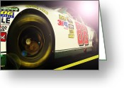 Dale Earnhardt Jr Greeting Cards - The Need For Speed 88 Greeting Card by Kenneth Krolikowski