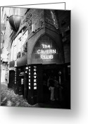 New Britain Greeting Cards - The New Cavern Club In Mathew Street In Liverpool City Centre Birthplace Of The Beatles Greeting Card by Joe Fox