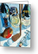 Wine Greeting Cards - The Nineteenth Hole  Greeting Card by Christopher Mize