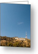 Piracy Greeting Cards - The Nora Ephron Shot - Beachwood Canyon Greeting Card by Natasha Bishop