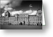 Admiralty Greeting Cards - the old admiralty building in horse guards parade London England UK United kingdom Greeting Card by Joe Fox