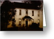 Abandoned Houses Greeting Cards - The Old and the Beautiful Greeting Card by Kristie  Bonnewell