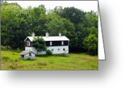Country Scenes Photographs Greeting Cards - The Old Horse Barn Greeting Card by Robert Margetts