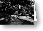 Burials Greeting Cards - The old road to eternity Greeting Card by David Lee Thompson