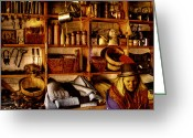 Tacoma Greeting Cards - The Old Store at Fort Nisqually Greeting Card by David Patterson
