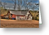Mississippi County Greeting Cards - The Ole Rebel Greeting Card by Mark Martin