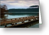 Olympic National Park Greeting Cards - The Olympic Peninsula Greeting Card by Jeffrey Campbell