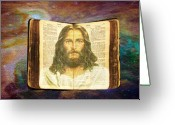 Bible Greeting Cards - The only way Greeting Card by Evelyn Patrick