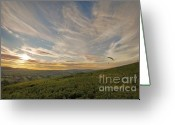 Mound Greeting Cards - The Open Spaces Greeting Card by Angel  Tarantella