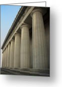 Parthenon Greeting Cards - The Parthenon Greeting Card by Steven  Michael