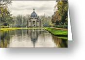 Archer Greeting Cards - The Pavillion Greeting Card by Chris Thaxter