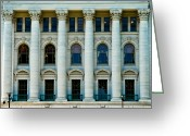 Legislature Greeting Cards - The Peoples House Greeting Card by Christi Kraft