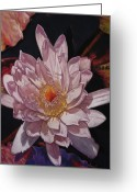Flower. Petals Pastels Greeting Cards - The Perfect Lily Greeting Card by Melissa Tobia