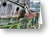 Ship-wreck Greeting Cards - The Planter Greeting Card by JC Findley