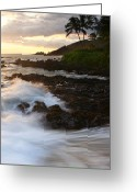 Beach Photographs Greeting Cards - The Poets Love Song Greeting Card by Sharon Mau