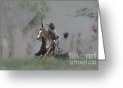Muskets Greeting Cards - The Portle Greeting Card by Kim Henderson
