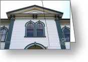 Potter School House Greeting Cards - The Potter School House . Bodega Bay . Town of Bodega . California . 7D12482 Greeting Card by Wingsdomain Art and Photography